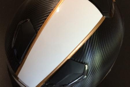 FontFront-Helmfolierung-Carbon-Fiber-Folie-Brushed-Gold-05