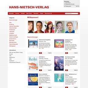 Hans-Nietsch-Verlag Redesign