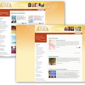 Webdesign und Einrichtung des Onlineshops von Amra