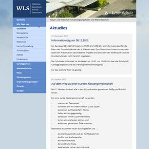 Webdesign Wilhelm-Leuschner-Schule Darmstadt