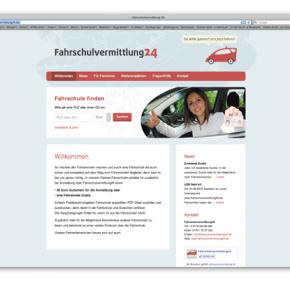 Webdesign für Fahrschulvermittlung24