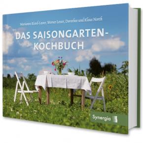 Layout und Umschlaggestaltung für das Saisongarten-Kochbuch