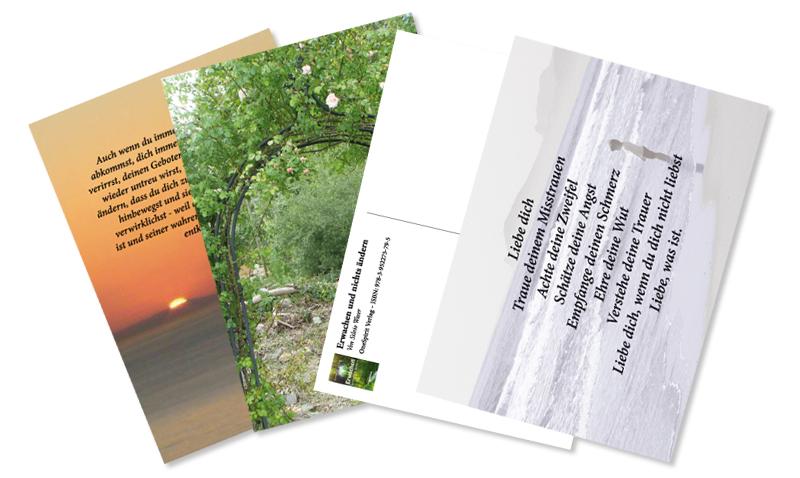 Postkarten Fächer