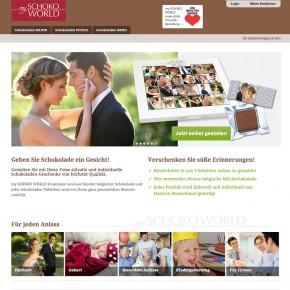 Webdesign My Schoko World