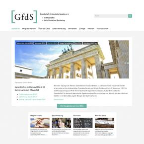 Relaunch der Internetseite der Gesellschaft für deutsche Sprache