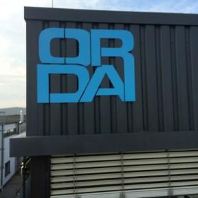 Montage eines Logos für Orda Gbr