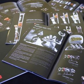 Gestaltung des neuen Roor-Katalogs