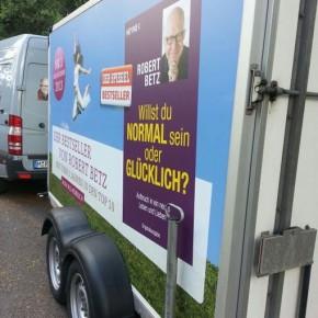 Fahrzeugbeschriftung Sprinter und Anhänger für Robert Betz