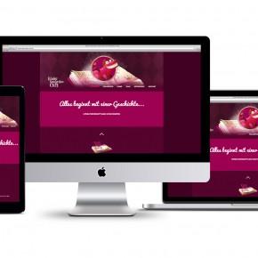 Webdesign: Kinder-Geschichten-Café