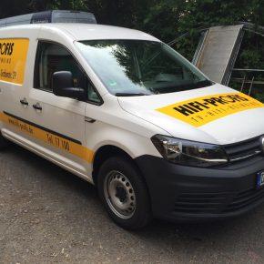 Fahrzeugbeschriftung HIFI-Profis
