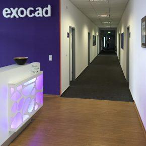 Bürobeschriftungen für exocad