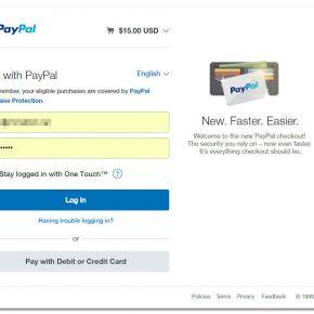 Neue Paypal-Schnittstelle nötig ab 29.03.2017