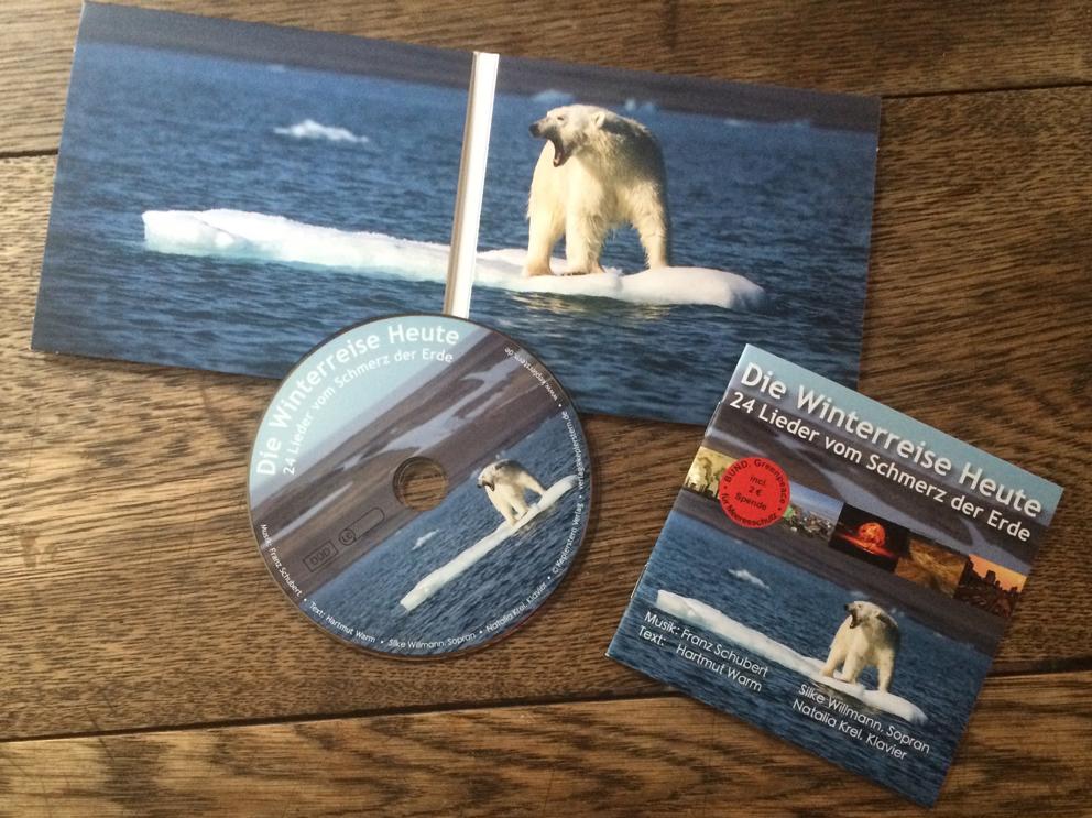 CD-Booklet Die Winterreise Heute CD offen