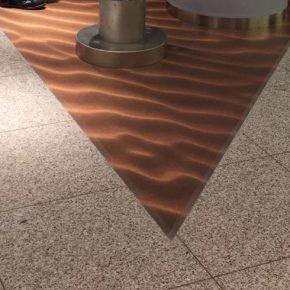 Boden-Folie in Sand-Optik