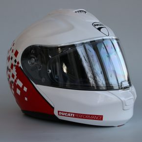 Helm Design für einen Ducati Fahrer