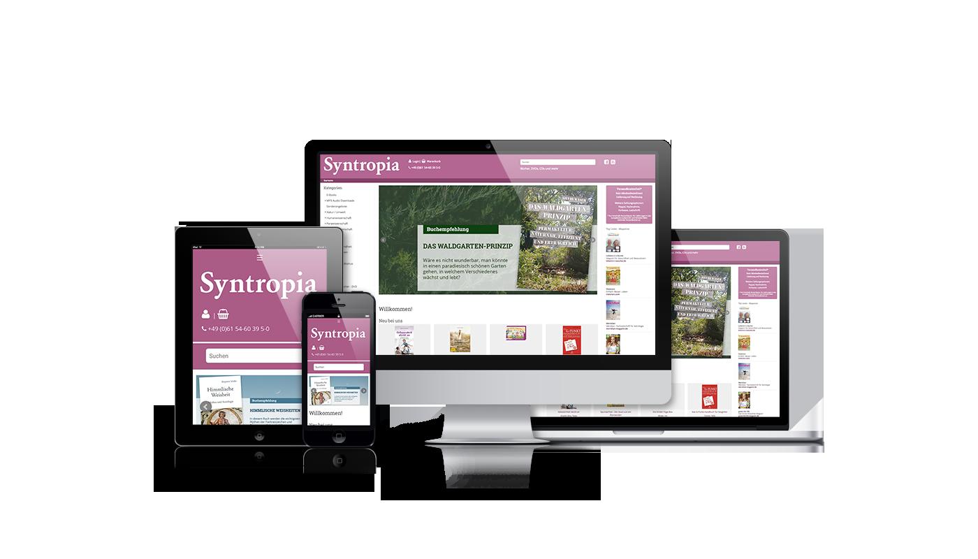 FontFront-Redesign-Syntropia-Buchversand-Webseite