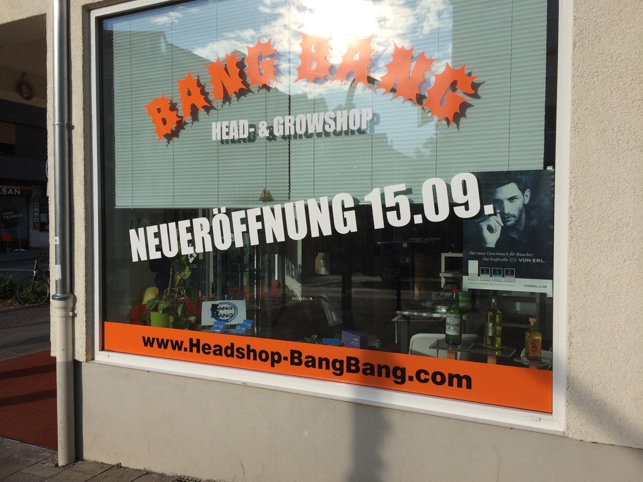 FontFront Rossdorf BangBang Darmstadt Schaufensterbeschriftung Folie