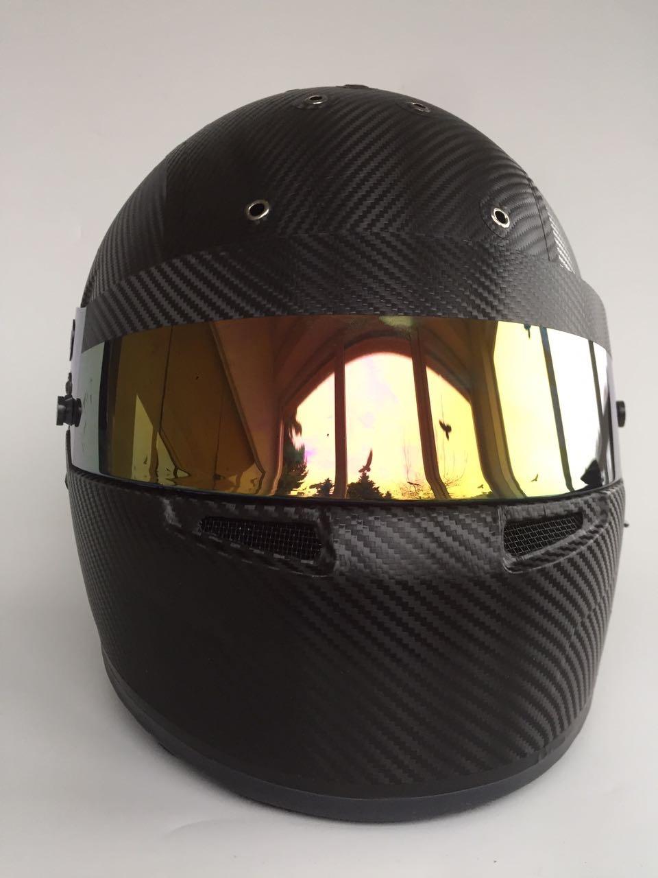 Folierung Helm Carbon 3D Folie
