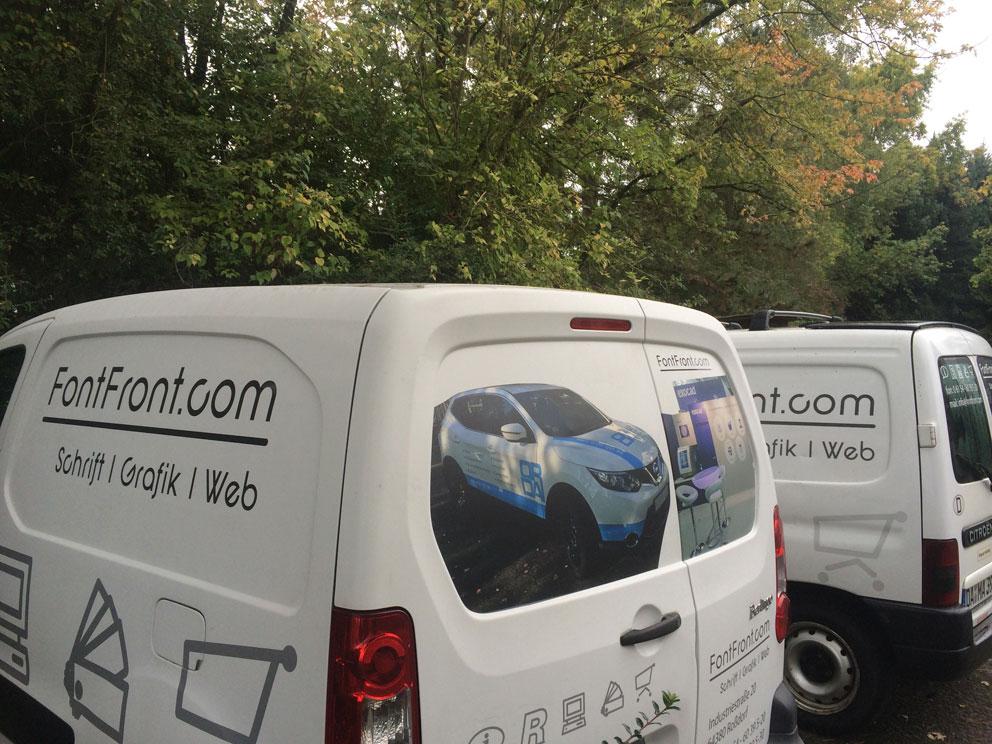 Unser neues Montage-Fahrzeug – FontFront