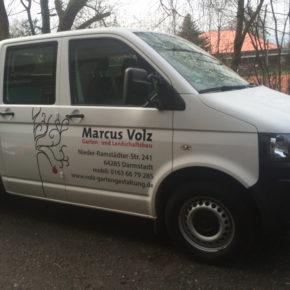 Frontfront Rossdorf Pritsche Marcus Volz Fahrzeugbeschriftung 1
