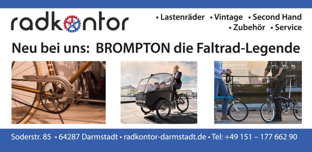 anzeige radkontor p-magazin fontfront rossdorf